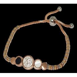 Bracelet  multi pendentifs