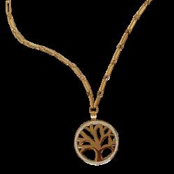 Collier or pendentif arbre de vie