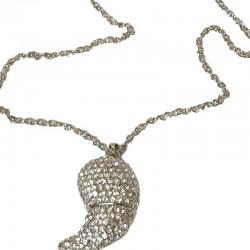Collier argent pendentif...