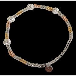 Bracelet perles colorées...
