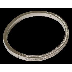Bracelet argenté cristaux...