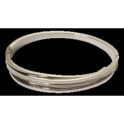 Bracelet spirale argent