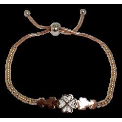 Bracelet or et argent...